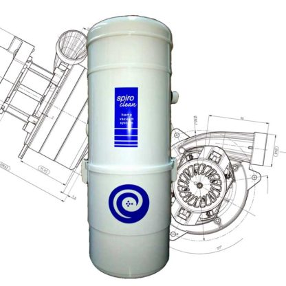 Central home vacuum system FA15